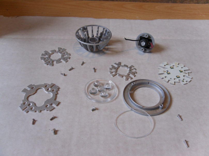 LED disassembled